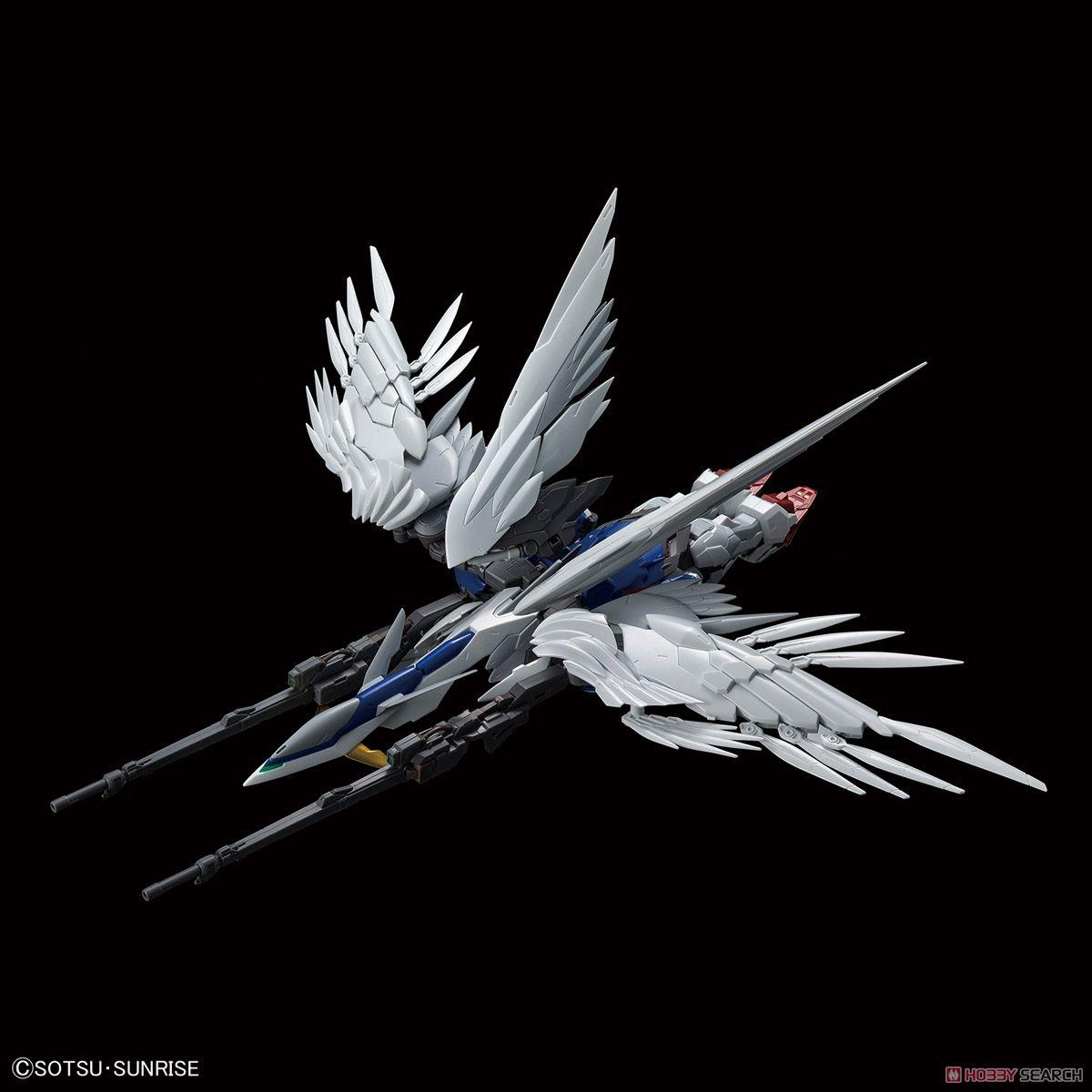 High-Resolution Model Wing Gundam Zero EW (1/100) (Gundam Model Kits) Item picture3