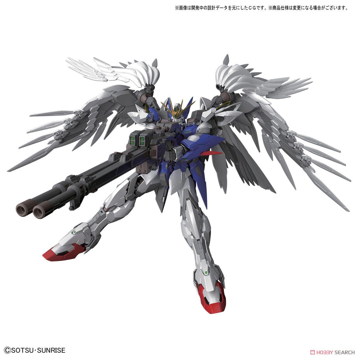 High-Resolution Model Wing Gundam Zero EW (1/100) (Gundam Model Kits) Other picture3