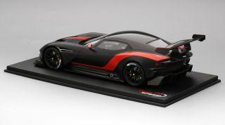 Aston Martin Vulcan Matte Black W Red Stripe Diecast Car Hobbysearch Diecast Car Store