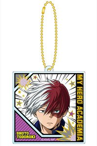 My Hero Academia Kirakira Acrylic Key Chain 04 Shoto Todoroki (Anime Toy)