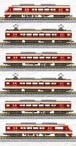 The Railway Collection Nishi-Nippon Railroad Type 8000 (6-Car Set) (Model Train)
