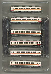 The Railway Collection Tobu Express Train to Tobu NIkko/Aizu Tajima Last Day 39 Train Set (6-Car Set) (Model Train)