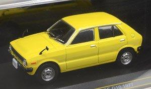 ダイハツ シャレード G10 1977 イエロー (ミニカー)
