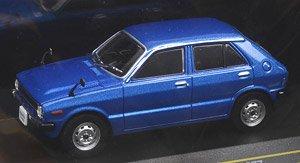 ダイハツ シャレード G10 1977 ブルー (ミニカー)