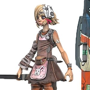 Tiny Tina Action Figure Mcfarlane Borderlands 7 Inch
