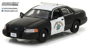 2008 Ford Crown Victoria Police Interceptor California Highway Patrol (ミニカー)