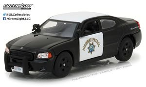 2008 Dodge Charger California Highway Patrol (ミニカー)