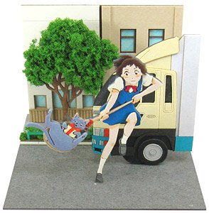 [Miniatuart] Studio Ghibli Mini : `The Cat Returns` Catch Lune (Assemble kit) (Railway Related Items)