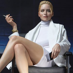 Catherine Tramell A K A Sharon Stone Superb Scale Statue Basic Instinct 1992 Completed Hobbysearch Anime Robot Sfx Store