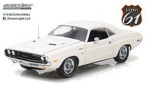 1970 Dodge Challenger R/T - White (ミニカー)