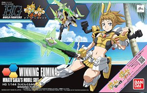 Winning Fumina (HGBF) (Gundam Model Kits)