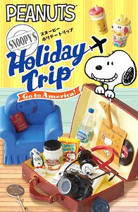SNOOPY`S Holiday Trip -Go to America!- 8個セット (キャラクターグッズ)
