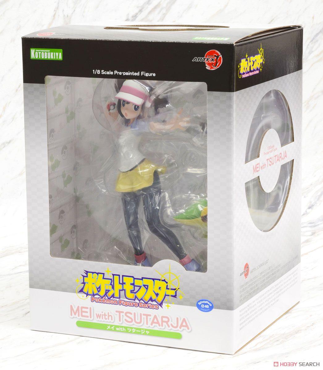 with Snivy Figure Mei Kotobukiya ARTFX J Pokemon Rosa