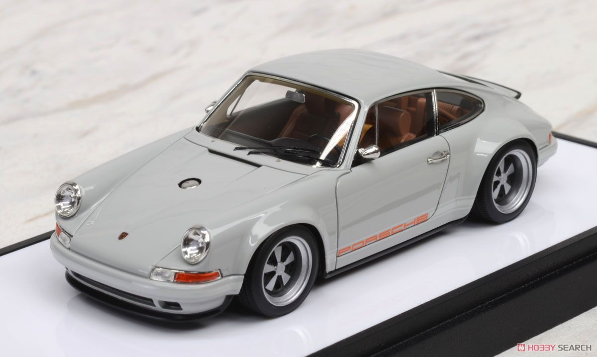 Porsche Singer 911(964) Light Gray (Diecast Car) Hi-Res