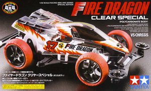 Fire Dragon Clear Special (Polycarbonate Body) (Mini 4WD)