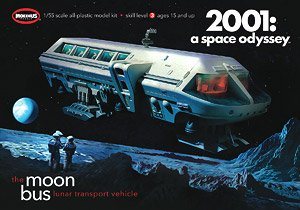 2001: A Space Odyssey 1/55 Moon Bus (Plastic model)