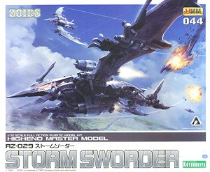 RZ-029 Storm Sworder (Plastic model)