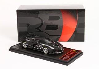 1:18 BBR Ferrari FXXK 2016 matt black// silver #98 NEW bei PREMIUM-MODELCARS