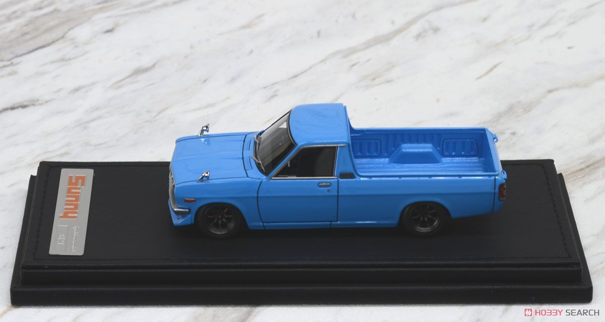 Nissan Sunny Truck (B121) Long Light Blue (ミニカー)