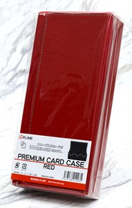 Premium Card Case/Red (Card Supplies)