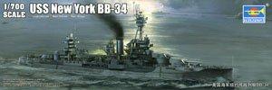 アメリカ海軍戦艦 BB-34 ニューヨーク (プラモデル)