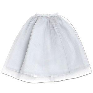 50 チュールスカート (ライトグレー) (ドール)