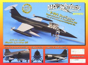 Detail Up Parts Set for F-104 Starfighter (Plastic model)