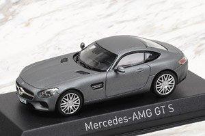 メルセデス AMG GT S 2015 マットグレー (ミニカー)