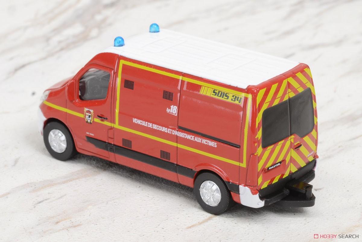 ルノー マスター 2014 消防車 (ミニカー)