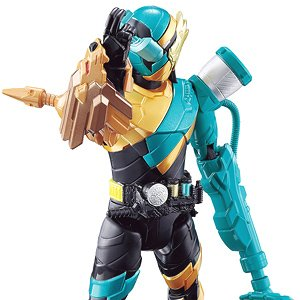 Bottle Change Rider Series 06 Kamen Rider Build [Lion Cleaner Form] (Character Toy)