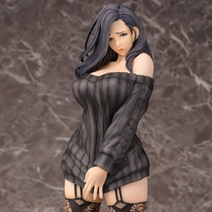 Non Oda Illustration Shiho Kujo Black Hair Ver. Limited Edition (PVC Figure)