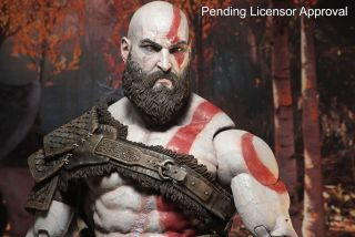 God Of War 2018 Kratos 7inch Action Figure Completed