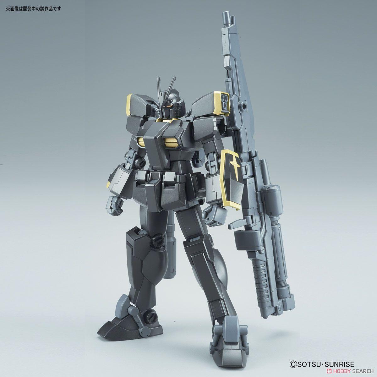 Gundam Lightning Black Warrior (HGBF) (Gundam Model Kits) Item picture1