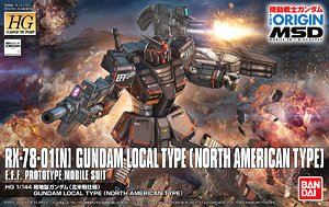 Gundam Local Type (North American Front) (HG) (Gundam Model Kits)