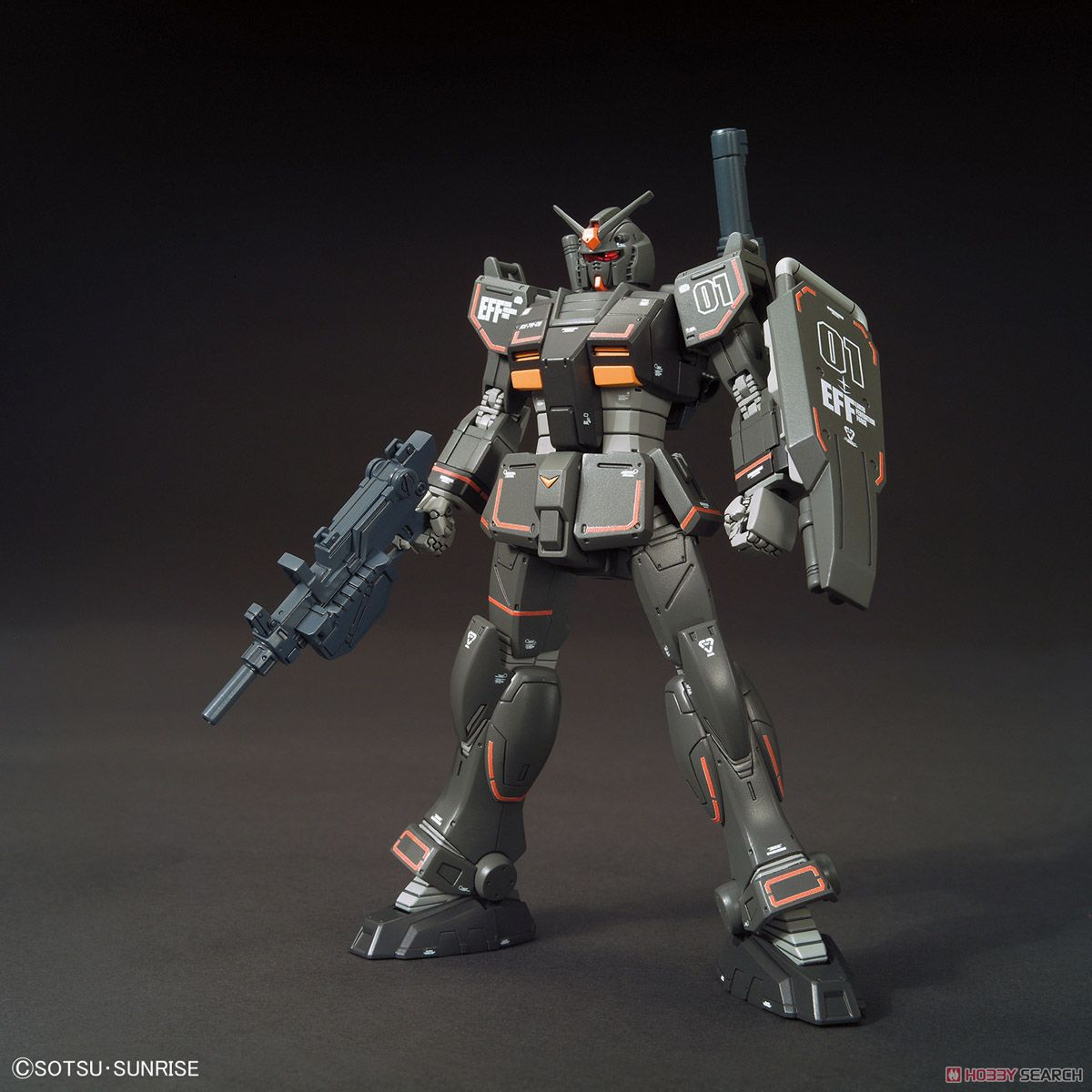 Gundam Local Type (North American Front) (HG) (Gundam Model Kits) Item picture1