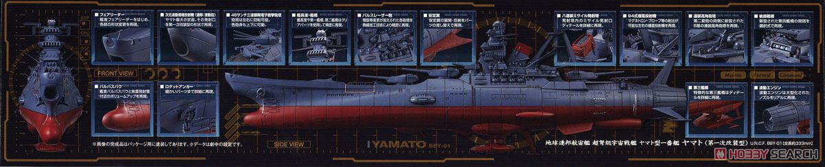 Space Battleship Yamato 2002 (1/1000) (Plastic model) Item picture15