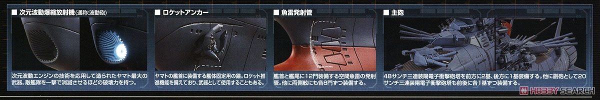 Space Battleship Yamato 2002 (1/1000) (Plastic model) About item2
