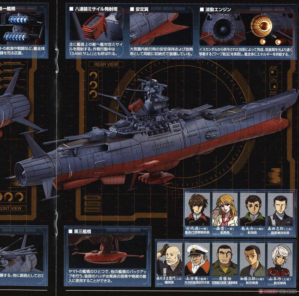 Space Battleship Yamato 2002 (1/1000) (Plastic model) About item3