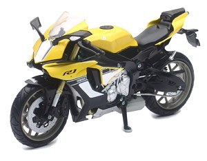 Yamaha YZF R1 2016 Yellow (Diecast Car)