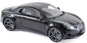 アルピーヌ A110 プレミアエディション 2017 ブラック (ミニカー)