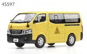 NISSAN NV350 CARAVAN School Bus (2012) (ミニカー)