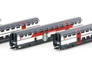 SBB IC2000 WR Barwagen Starbucks (Dining Car `Starbucks`) (Model Train)