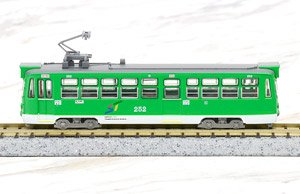 The Railway Collection Sapporo City Transportation Bureau Type 250 Single Arm Pantograph Car (#252) (Model Train)