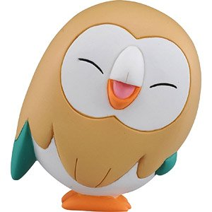 Monster Collection EX Rowlet (Smile) (Character Toy)
