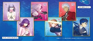 Fate/stay night Heaven`s Feel トレーディングミニ色紙 vol.1 6個セット (キャラクターグッズ)