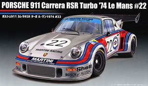 Porsche 911 Carrera RSR Turbo Le Mans 1974 #22 (Model Car)