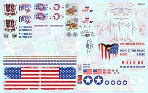 American Pride Graphics Custom Decals 1:25 Scale (Decal