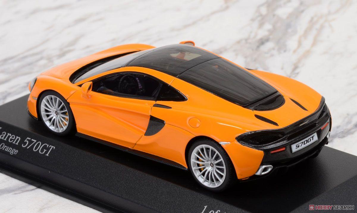 マクラーレン 570GT オレンジ (ミニカー)