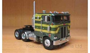 Peterbilt 352 Pacemaker 1979 MetallicGreen/Gold 86in (Diecast Car