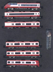 Meitetsu Series 1200 (Renewaled Car/Unit A) Six Car Formation Set (w/Motor) (6-Car Set) (Pre-colored Completed) (Model Train)